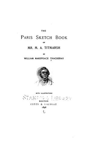 Download The Paris Sketch Book of Mr. M. A. Titmarsh