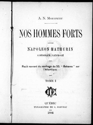 Nos hommes forts
