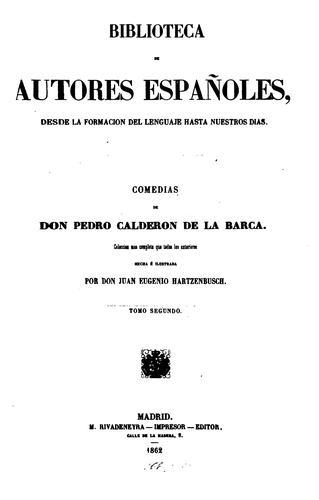 Download Comedias de Don Pedro Calderón de la Barca