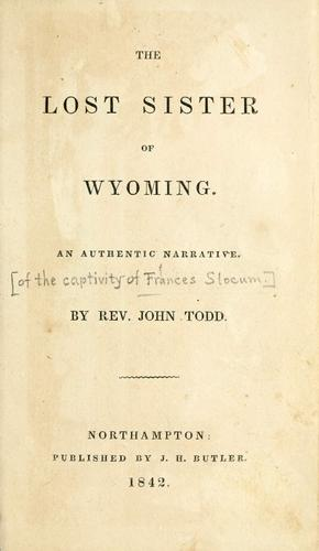 Download The lost sister of Wyoming