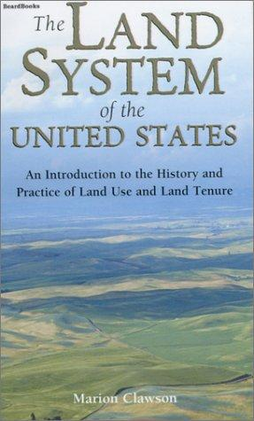 The Land System of the United States