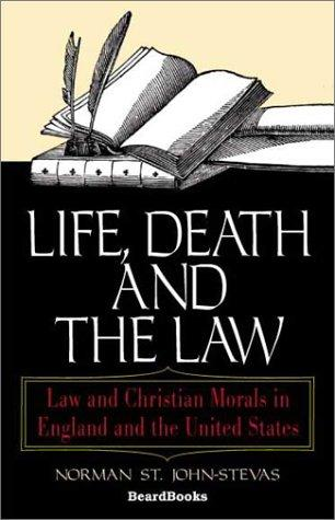 Download Life, Death and the Law