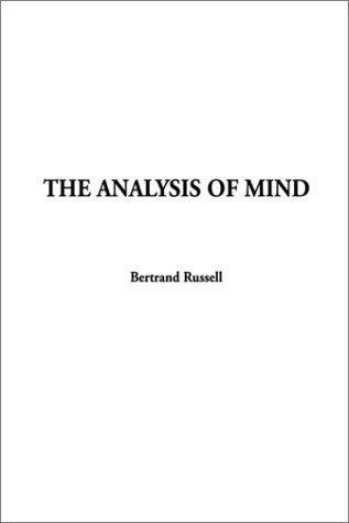 Download The Analysis of Mind