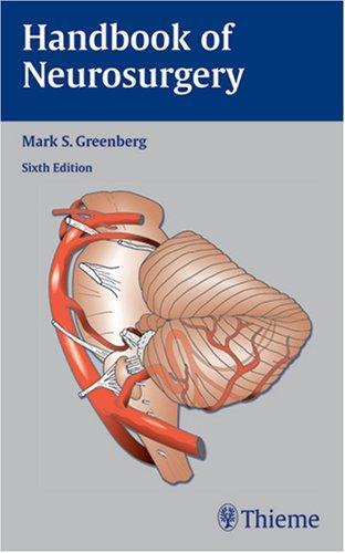 Download Handbook of Neurosurgery