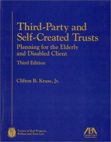 Third-party and self-created trusts
