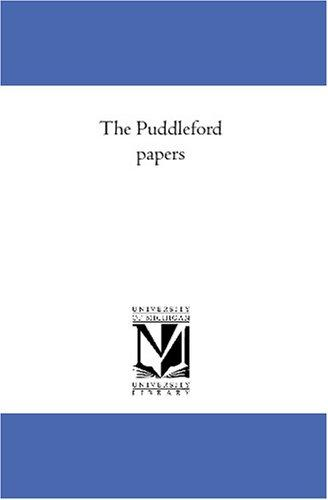 Download The Puddleford papers