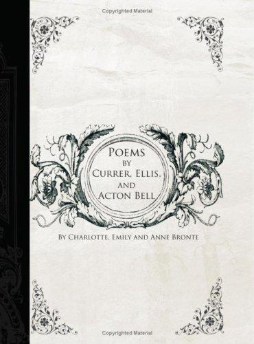 Poems by Currer, Ellis, and Acton Bell (Large Print Edition)