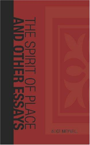 Download The Spirit of Place and Other Essays