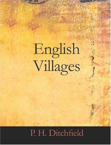 English Villages (Large Print Edition)