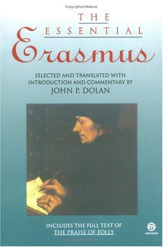 The Essential Erasmus (Essentials) by Desiderius Erasmus