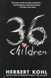 36 Children (Plume) by Kohl, Herbert