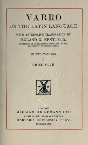 On the Latin language