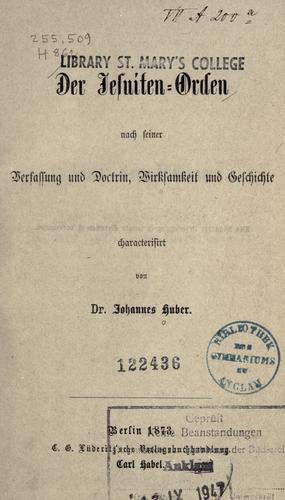 Der Jesuiten-Orden