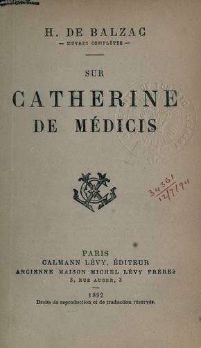 Download Sur Catherine de Médicis.