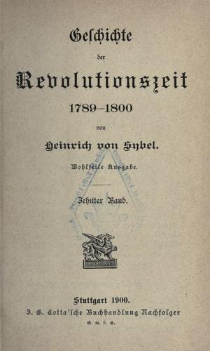 Download Geschichte der Revolutionszeit 1789-1800