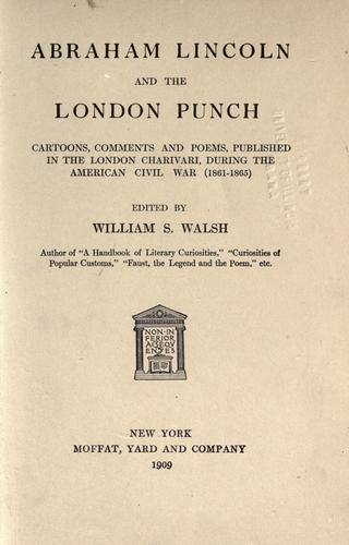Download Abraham Lincoln and the London Punch