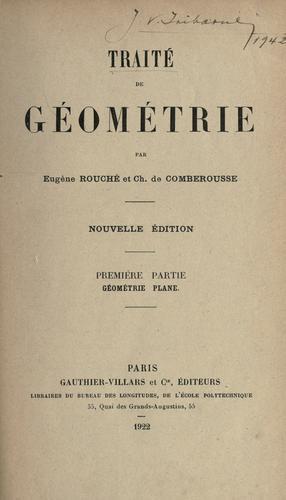 Traité de géométrie