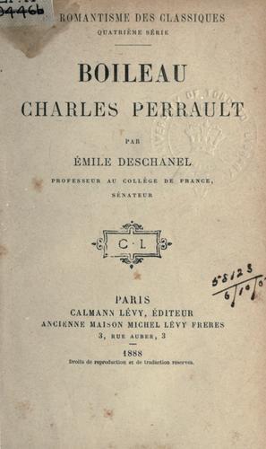 Boileau, Charles Perrault.