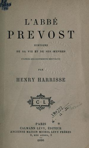 L' abbé Prévost