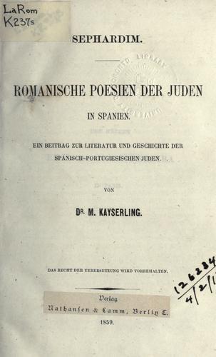 Sephardim