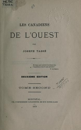 Download Les Canadiens de l'Ouest.