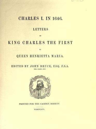 Download Charles I. in 1646.