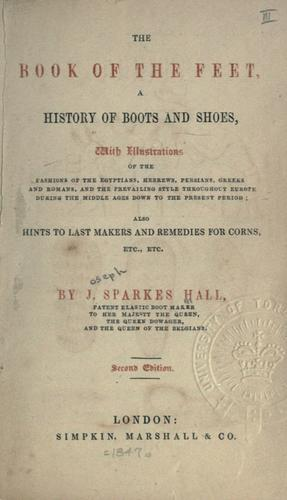 The book of the feet
