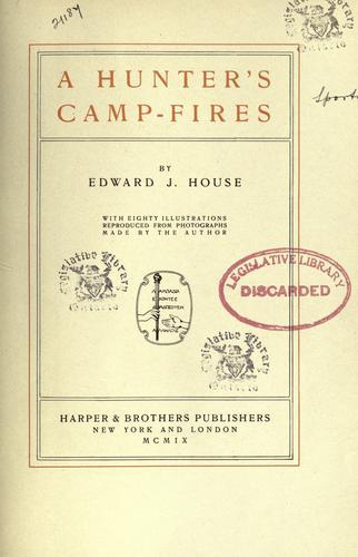 A hunter's camp-fires