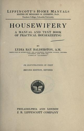 Download Housewifery