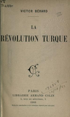 Download La Révolution Turque.
