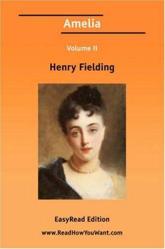 Amelia Volume II EasyRead Edition