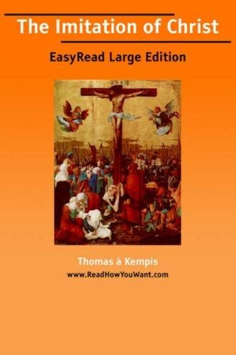 The Imitation of Christ EasyRead Large Edition