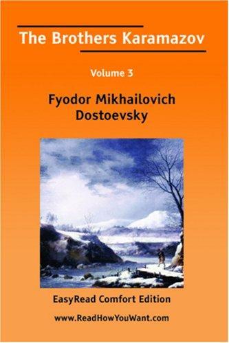 Download The Brothers Karamazov Volume 3 EasyRead Comfort Edition