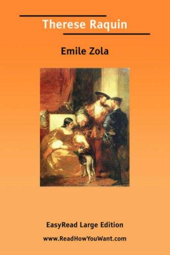 Download Therese Raquin EasyRead Large Edition