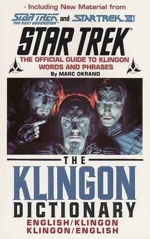 Download The Klingon dictionary.