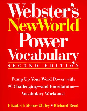 Webster's New World power vocabulary