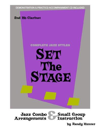 Set The Stage Jazz Combo/Small Group Arrangements and Instruction