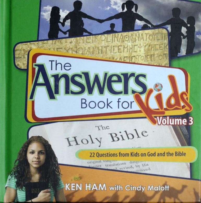 22 questions from kids on God and the Bible by Ken Ham