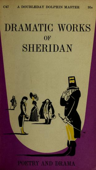 The dramatic works of Sheridan by Richard Brinsley Sheridan
