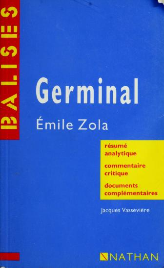 Cover of: Germinal: Émile Zola | Jacques Vassevière