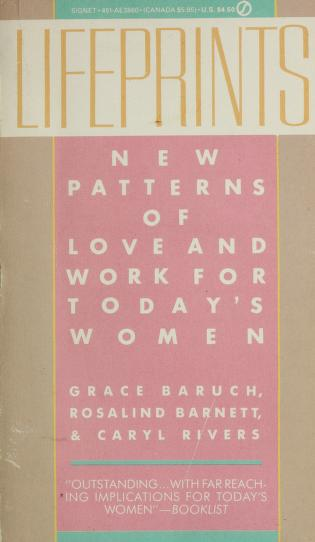 Cover of: Life Prints | Grace Baruch, Barnbet, Rivers