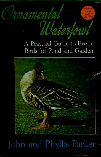 Cover of: Ornamental waterfowl | Parker, John