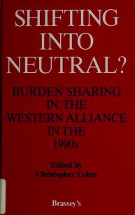 Cover of: Shifting into Neutral | Christopher Coker
