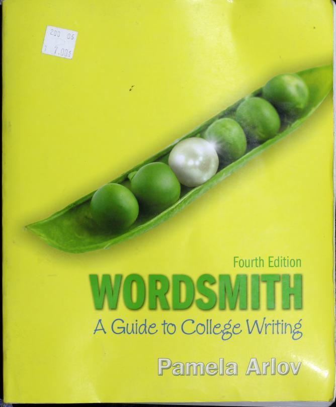 Wordsmith by Pamela Arlov