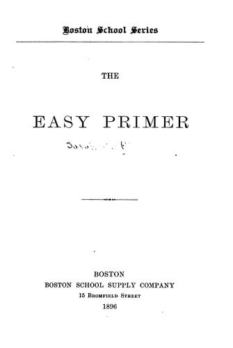 The Easy Primer by Sarah C. Richards