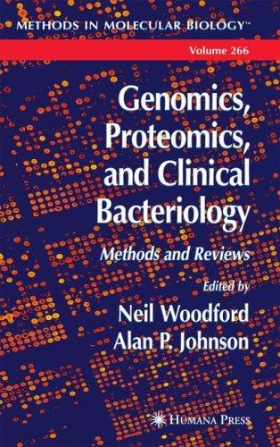 Genomics, proteomics, and clinical bacteriology by