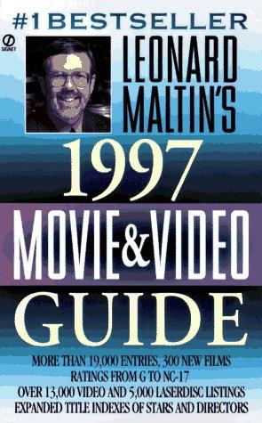 Leonard Maltin's Movie and Video Guide 1997 (Leonard Maltin's Movie Guide (Signet)) by Leonard Maltin
