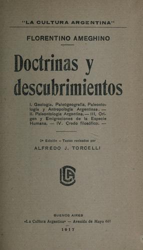 Doctrinas y descubrimientos