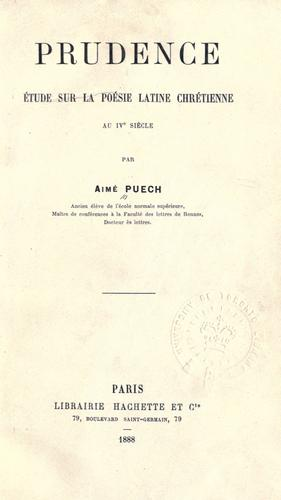 Prudence by Aimé Puech