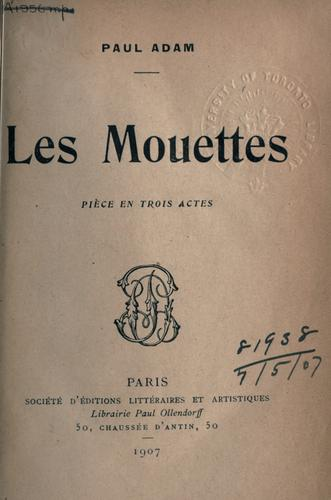 Les mouettes by Adam, Paul
